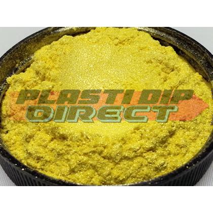 Yellow 'Nebula Pearl', Dip Pearls, 25g | Plasti Dip Direct