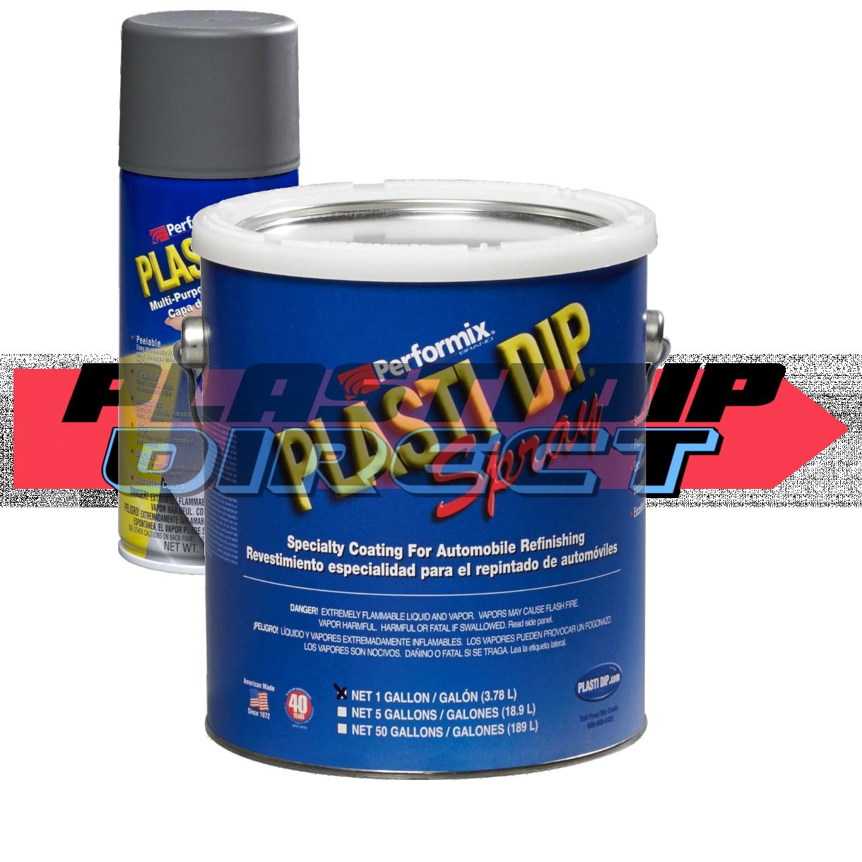 Gunmetal Gray Plasti Dip Spray Sprayable Gallons 1 Gal Plasti Dip Direct